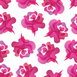 Rose seamless background Royalty Free Stock Photo