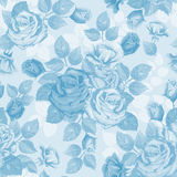 Rose. Seamless background. Vintage seamless rose floral pattern Royalty Free Stock Photo