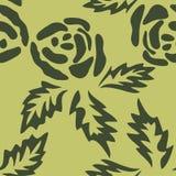 Rose seamless pattern. Vector illustrationnbackground eps 10 stock illustration