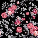Rose Seamless Pattern Imagenes de archivo