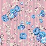 Rose Seamless Pattern Fotografía de archivo
