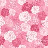 Rose  seamless pattern. Stock Image