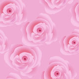 Rose seamless Royalty Free Stock Photos