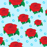 Rose seamless texture Stock Photo