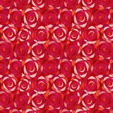 Rose Seamless Wallpaper Pattern Stock Photos