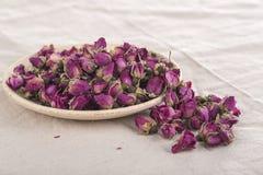 Rose secche dei fiori Fotografia Stock