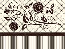 Rose shape background. Stock Photography