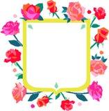 Rose Shield Royalty Free Stock Image