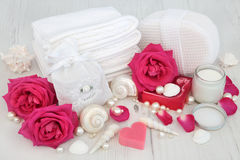 Rose Skincare Beauty Treatment fotografia de stock
