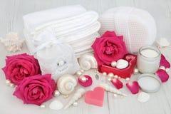 Rose Skincare Beauty Treatment Stock Photography