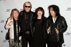Rose Smith, Neal Smith, Sheryl Goddard, Alice Cooper Royalty Free Stock Photo