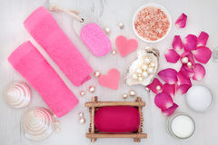 Rose Spa Beauty Treatment Fotografia Stock Libera da Diritti