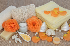 Rose Spa Beauty Treatment Lizenzfreie Stockfotos
