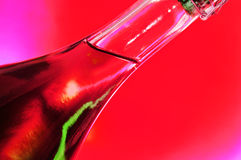 Rose sparkling wine Stock Photo