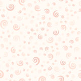 Rose spiral pattern. Seamless vector royalty free illustration