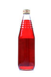 Rose ssyrup bottle Royalty Free Stock Photos