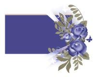 rose stiltappning för bakgrund royaltyfri illustrationer