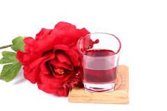 Rose syrup Royalty Free Stock Images