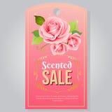Rose tag Stock Photos