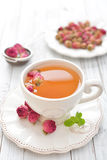 Rose Tea Fotografie Stock