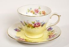 Rose tea cup Stock Photography