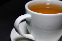 Rose Tea Cup. Cup of healthy Rose tea royalty free stock photography