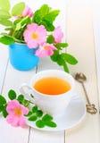 rose tea för höft Arkivbild