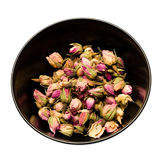 Rose tea. Fragrant and tasty tea made ​​of dried rose buds Royalty Free Stock Photography