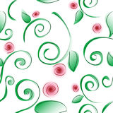 Rose Tile. Tileable rose pattern vector illustration