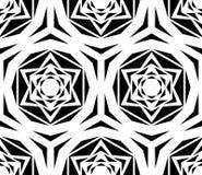 Rose Tile Pattern noire géométrique Photos libres de droits