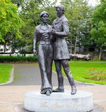 Rose Of Tralee Statue Ireland Arkivfoton