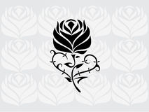 Rose Tribal Vector Fotografia Stock