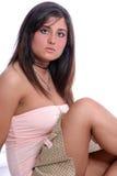 Rose trois de Brunette Photos libres de droits