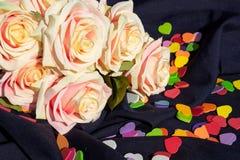 Rose und Inneres lizenzfreie stockfotos