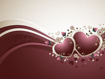Rose Valentine's Background Royalty Free Stock Photo
