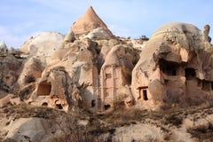 The rose valley in Cappadocia. Sandstone formations in the Rose Valley. Cappadocia, Turkey Stock Photos