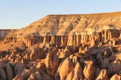 Rose Valley in Cappadocia, Nevsehir, Turkije stock fotografie