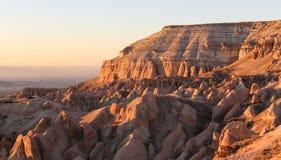 Rose Valley in Cappadocia, Nevsehir, Turkije royalty-vrije stock fotografie