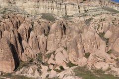 Rose Valley in Cavusin-Dorp, Cappadocia royalty-vrije stock foto