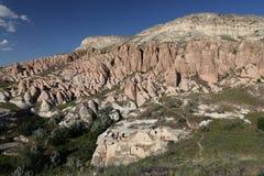Rose Valley in Cavusin-Dorp, Cappadocia stock foto