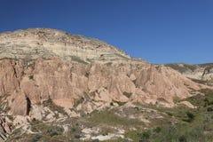 Rose Valley in Cavusin-Dorp, Cappadocia royalty-vrije stock fotografie