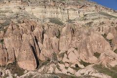 Rose Valley in Cavusin-Dorp, Cappadocia royalty-vrije stock afbeelding