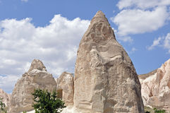 Rose Valley rossa, Goreme, Cappadocia, Turchia Fotografia Stock