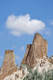 Rose Valley rossa, Goreme, Cappadocia, Turchia Fotografia Stock Libera da Diritti