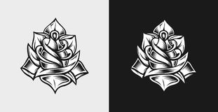 Rose Vector Vol 2 Royaltyfri Foto