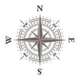 rose vektorwind för kompass Royaltyfri Foto