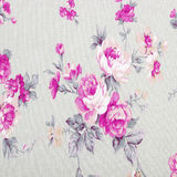 Rose vintage from fabric Royalty Free Stock Image
