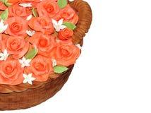 Rose von marcipan Stockbilder