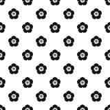 Rose von Sharon-Muster, einfache Art Stockbilder