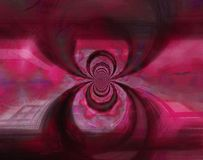 Rose Vortex Copper Lizenzfreies Stockfoto